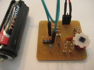 Time Domain Reflectometer PCB Component side