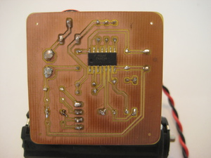 Time Domain Reflectometer PCB Trace side